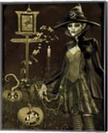 Halloween Graveyard - C Fine-Art Print