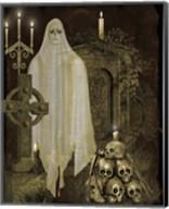 Halloween Graveyard - F Fine-Art Print