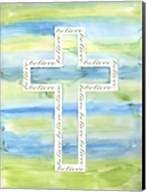 Watercolor Cross - A Fine-Art Print