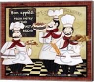 Bistro French Chefs - A Fine-Art Print