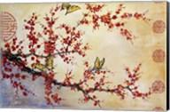 Butterfly Blossoms - Asian Fine-Art Print