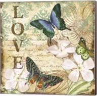 Inspirational Butterflies - Love Fine-Art Print