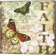 Inspirational Butterflies - Faith Fine-Art Print