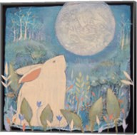 Rabbit and Moon Fine-Art Print