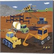 Construction 1 Fine-Art Print