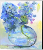 Hydrangea In Fish Bowl Fine-Art Print