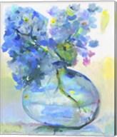 Hydrangea In Fish Bowl Fine-Art Print
