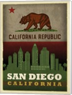 San Diego Flag Fine-Art Print