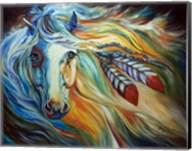 Breaking Dawn Indian War Horse Fine-Art Print