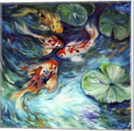 Dancing Colors Koi Fine-Art Print