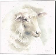 Farm Friends IV Neutral Fine-Art Print