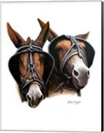 Grandpa's Mules Fine-Art Print