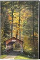 Red House Covered Bridge Fine-Art Print