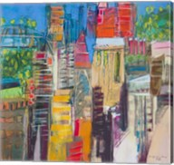 City Skyline 3 Fine-Art Print