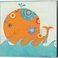 Happy Floral Whale Fine-Art Print