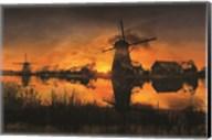 Windmill Sky Fine-Art Print