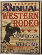 25th Annual Western Rodeo Fine-Art Print