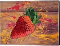 Strawberry Splash Fine-Art Print