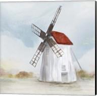 Red Windmill II Fine-Art Print