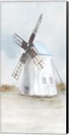 Blue Windmill II Fine-Art Print