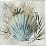 Turquoise Shell I Fine-Art Print