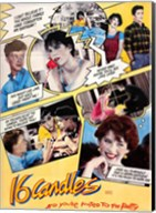 16 Candles Wall Poster