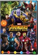 Avengers Infinity War (group) Wall Poster