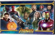 Avengers Infinity War (team) Wall Poster