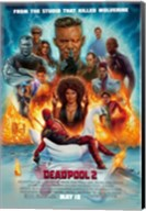 Deadpool 2 Wall Poster