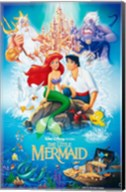 Little Mermaid Wall Poster