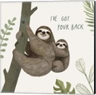 Sloth Sayings III Fine-Art Print