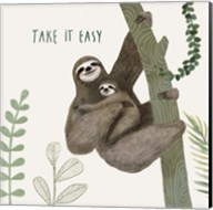 Sloth Sayings IV Fine-Art Print
