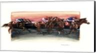 Horse Race Fine-Art Print