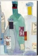 The Wine Bottles II Fine-Art Print