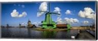 Dutch Windmills Fine-Art Print