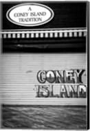 Coney Island New York Black/White Fine-Art Print