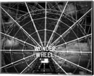 Wonder wheel  New York Black/White Fine-Art Print