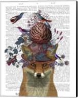 Fox Birdkeeper with Artichoke Fine-Art Print