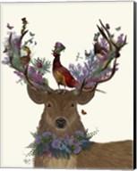 Deer Birdkeeper, Scottish Fine-Art Print