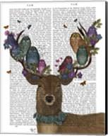 Deer Birdkeeper, Owls Fine-Art Print