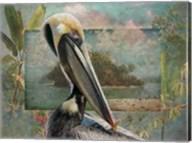 Pelican Paradise II Fine-Art Print
