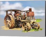 Vintage Tractor XII Fine-Art Print