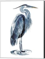 Blue Blue Heron I Fine-Art Print