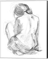 Sitting Pose I Fine-Art Print