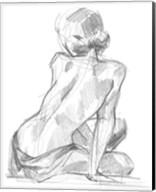 Sitting Pose II Fine-Art Print