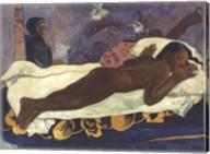 Manao Tupapau Fine-Art Print