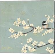 Chickadee & Dogwood I Fine-Art Print