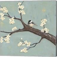Chickadee & Dogwood II Fine-Art Print