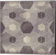 Hexagon Tile IV Fine-Art Print