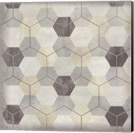 Hexagon Tile VIII Fine-Art Print
